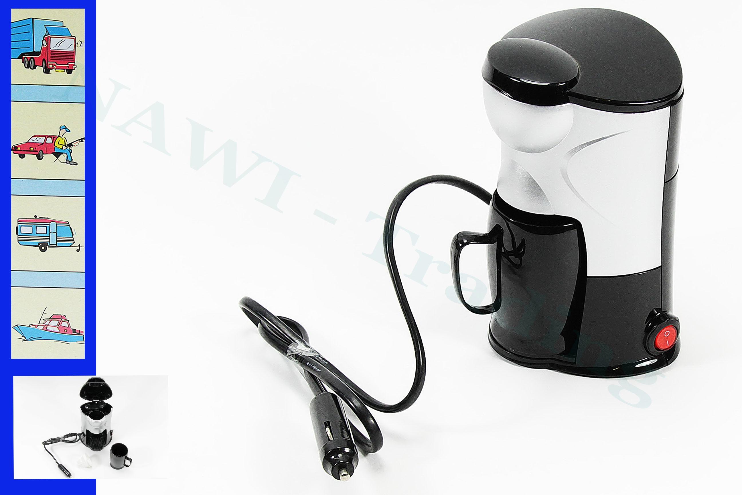 kaffee eine tasse wasserkocher kocher pkw auto  ~ Kaffeemaschine Für Eine Tasse