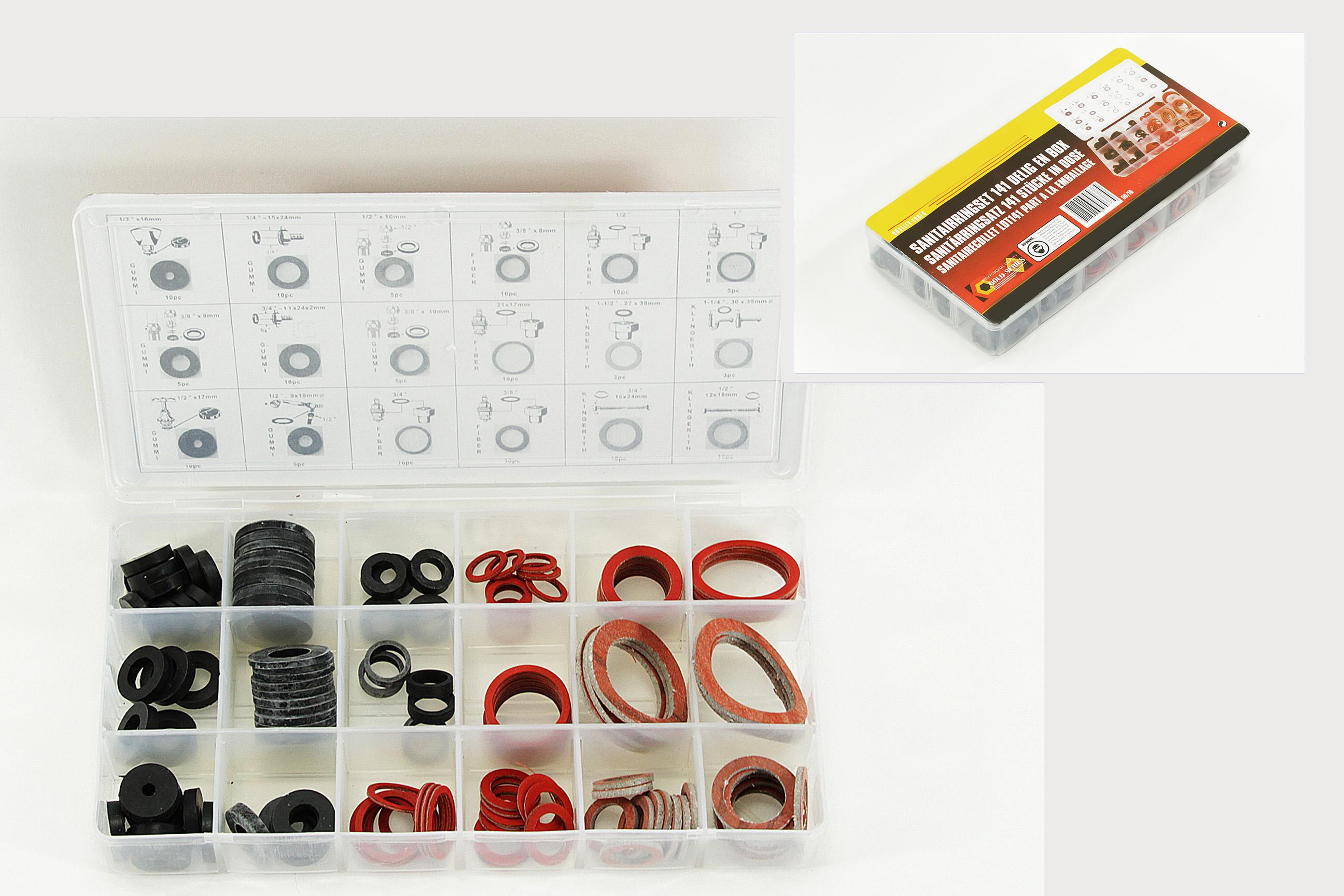 gummidichtung ring 141 tlg dichtring dichtungsring sanit r dichtungen neu ebay. Black Bedroom Furniture Sets. Home Design Ideas
