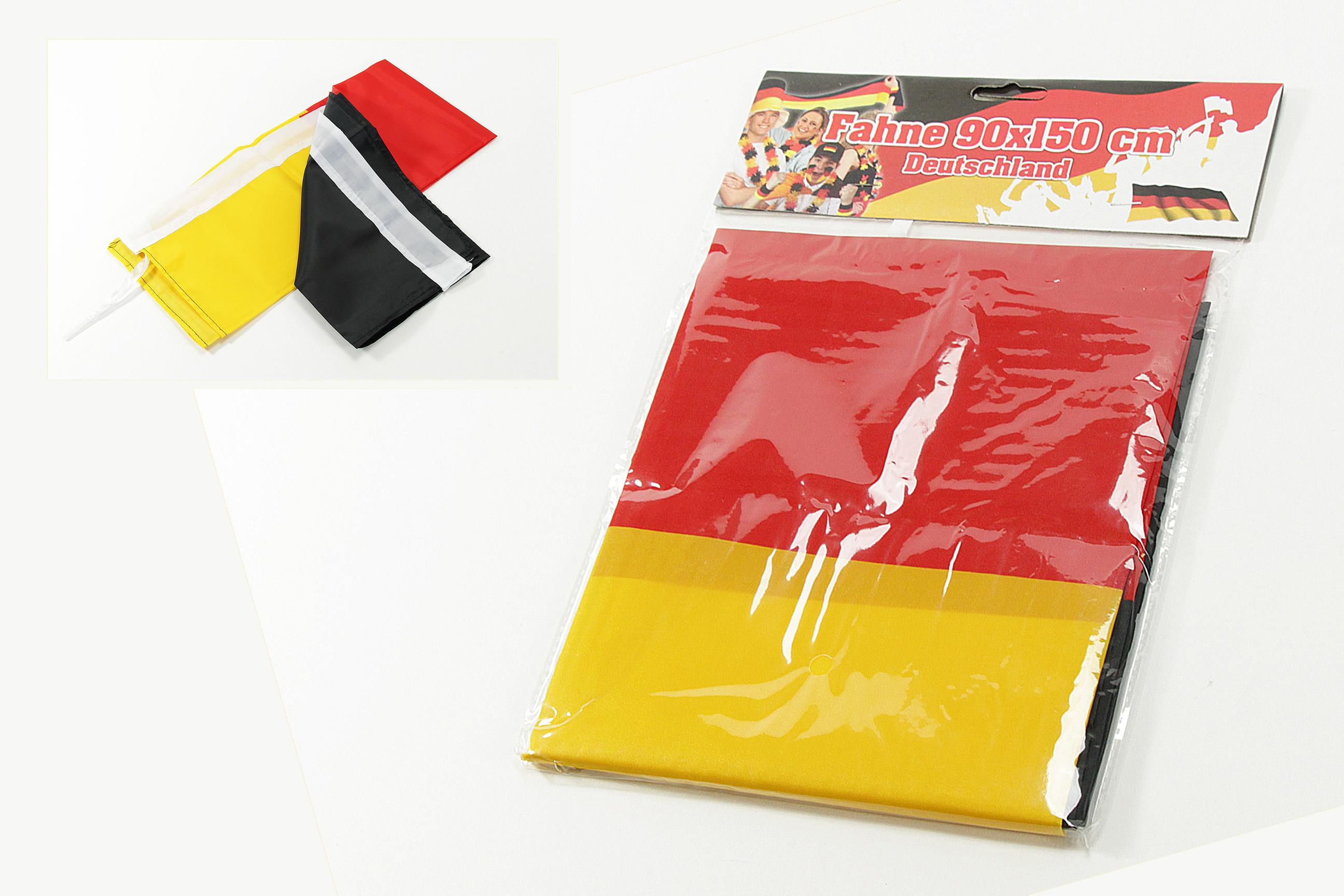 Fahne new 90 cm x 60 cm Germany Deutsche Flagge Fan Deutschland